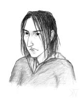 Young Snape in class by Son54niy