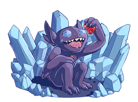 PokeddeXY - Sableye by oddsocket