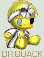 Sonic Plushie Collection: Dr. Quack by Omnicenos