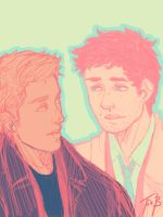 The many colours of Destiel by psycho-bunny-bunny