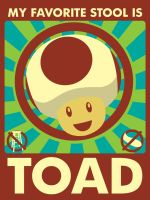Toad for resident stool by TravisSmall