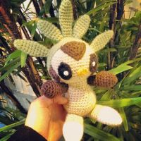 Chespin (Crochet) by SirPurlGrey