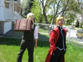 FMA - Two Brothers by Hyokenseisou-Cosplay