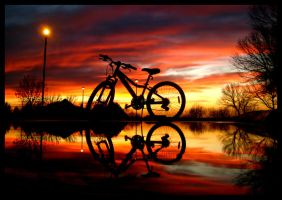 Ride 'Til the Sun Sets by FramedByNature