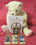 Diana with book and tarot deck by SapphoTheVampyrePoet