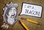 Not in a Dragon Suit! by TheLittleArtyThing