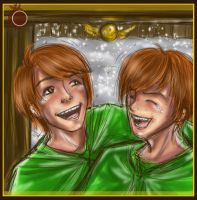 The Weasley Twins by plumfit