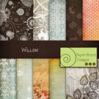 Willow-paper street designs by paperstreetdesigns