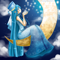 Moon Fairy by Azzuly