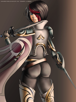 Fiora League of Legends by hotbento