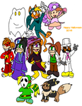 Happy halloween from the Aso's crew! by Aso-Designer