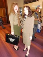 Agent Carter And Friend by Neville6000