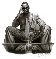 R. Kelly by Jerry LaVigne Jr by jerrylavignejr