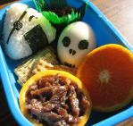 Pirate Bento by sake-bento