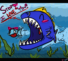 Catch Me if You Can - Fish Love by ProjectilePogostick