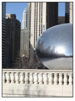 Chicago Mirror Ball 3 by sicklittlemonkey