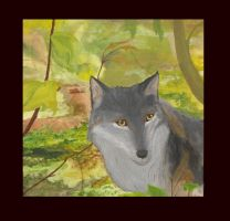 Forest Wolf by Kif3