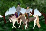 Guys For A Ride. by Floricenti