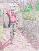 If Inuyasha were an artist. by Miyori999