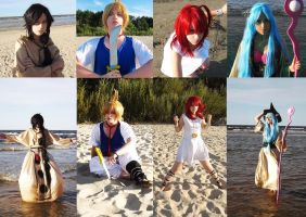 Magi Collage by DungeonQueen