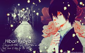 Hibari Kyoya Wallpaper by Youarenotthere