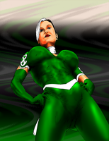 Rogue-Current Costume-colored by vitasimplex