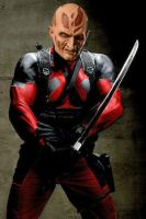 Scarred Deadpool Unmasked (FAN MADE LIVE ACTION) by Darth-Slayer