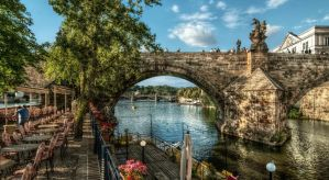 View of the Charles Bridge by pingallery