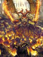 Haagenti Highlord of hell (regular version) by dcwj