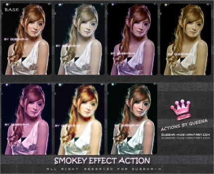 SMOKEY EFFECT ACTIONS by Queena-M