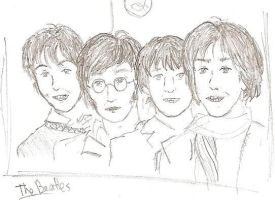 The Beatles by Particularlyme