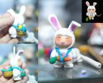 Mini Bunny Teemo Clay by chinggay