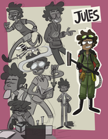 Jules - Gesture Sheet by Failureson