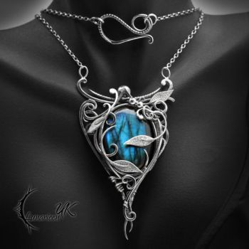 EGHDRALL - Silver and Labradorite by LUNARIEEN