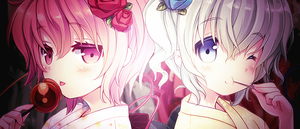 Conscious Hearts: Satori and Koishi Komeiji by Sirioth