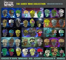 Doctor Who - The Cubee Who Collection by mikedaws