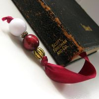 Satin Sheets Bookmark by Gilliauna