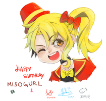 Happy Birthday Miso by Yue-t