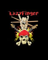 LazyFinger logo...coloured by KendallightStudios