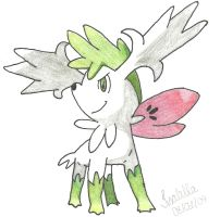 Shaymin - Pokemon by bellaalves