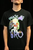 Chase Me Bro - Singed shirt by Shurukan