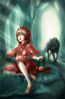 Little Red Riding Hood by Nilfea