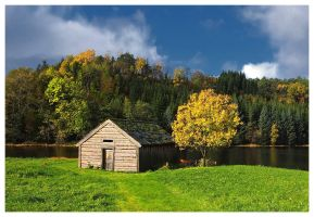 The boathouse... by petteram