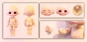 Q-Baby 10cm BJD features by DreamHighStudio