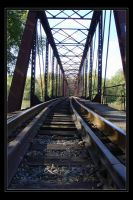 Down The Tracks :Two: by fetus0nthebeat