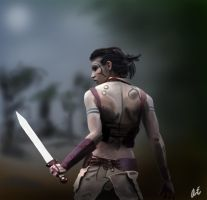 Huntress by Lexidos