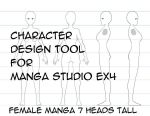 Character Design Tool F7 by Frank-Martin