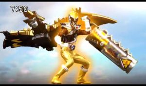 Kyoryugold Debut!! by Waito-chan
