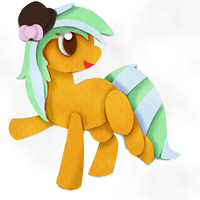 Patch-work Daimond, papper pony by CleverConflict