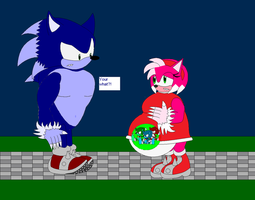 Were Amy, and Were Sonic 3 by CrazySonic00
